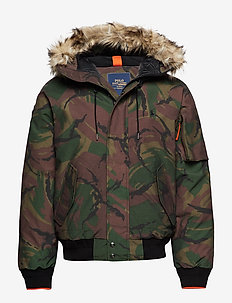 ANNEX BOMBER-DOWN FILL-JACKET - BRITISH ELMWOOD C