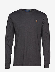 Custom Slim Interlock T-Shirt - DARK GREY HEATHER