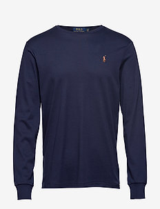 LSCNCMSLM2-LONG SLEEVE-T-SHIRT - FRENCH NAVY