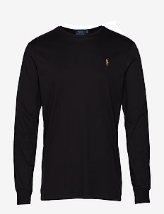 Custom Slim Interlock T-Shirt - sweatshirts - polo black