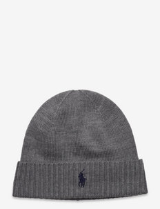 Wool Signature Pony Hat - FAWN GREY HEATHER