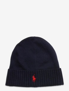 Wool Signature Pony Hat - beanies - piper navy