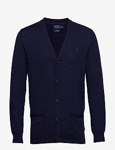 LS SF VN CRD-LONG SLEEVE-SWEATER - tricots basiques - hunter navy