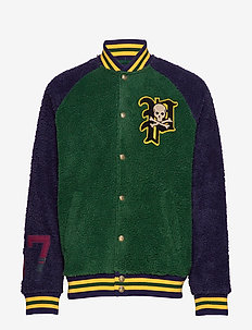 LSBBALLJKTM3-LONG SLEEVE-KNIT - COLLEGE GREEN/ CR