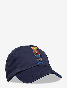Polo Bear Cotton Chino Cap - NEWPORT NAVY W/ H