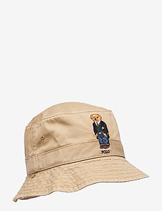 Polo Bear Bucket Hat - LUXURY TAN W/ ST
