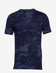 Custom Slim Fit Camo Tee - RL CAMO BLUE HEAT