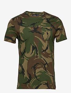 Custom Slim Fit Camo T-Shirt - short-sleeved t-shirts - british elmwood c