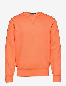 Fleece Crewneck Sweatshirt - basic sweatshirts - classic peach/c53