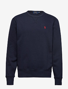 Fleece Crewneck Sweatshirt - basic sweatshirts - cruise navy