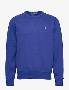 Fleece Crewneck Sweatshirt - basic sweatshirts - heritage royal/c1
