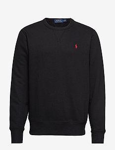 Fleece Crewneck Sweatshirt - basic-sweatshirts - polo black