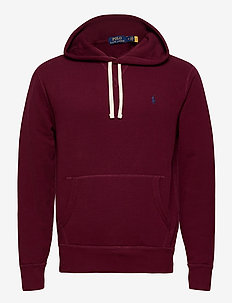 Fleece Hoodie - basic sweatshirts - classic wine