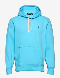 Fleece Hoodie - basic sweatshirts - french turquoise