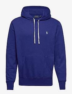 Fleece Hoodie - basic sweatshirts - heritage royal
