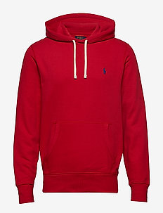 Fleece Hoodie - POLO SPORT RED