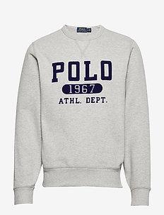 Fleece Graphic Sweatshirt - sweatshirts - andover heather