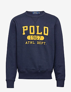Fleece Graphic Sweatshirt - CRUISE NAVY