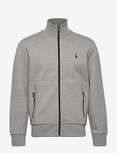 Double-Knit Track Jacket - sweatshirts - battalion heather