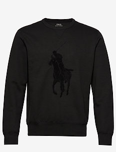 Big Pony Sweatshirt - sweatshirts - polo black