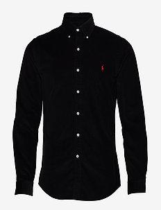 SL BD PPCSPT-LONG SLEEVE-SPORT SHIRT - chemises basiques - polo black