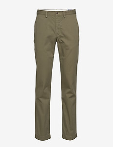 STRAIGHT FIT BEDFORD PANT - DARK SAGE