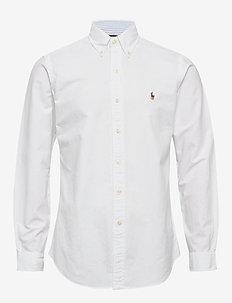 CU BD PPC SP-LONG SLEEVE-SPORT SHIRT - chemises basiques - bsr white