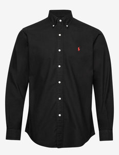 Custom Fit Oxford Shirt - polo black