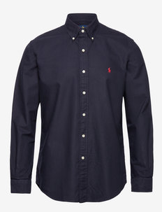 Custom Fit Oxford Shirt - peruspaitoja - rl navy