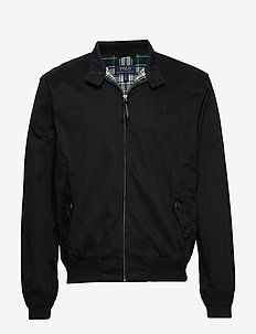 Cotton Twill Jacket - polo black