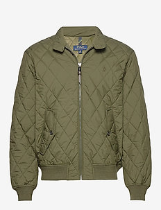Quilted Jacket - COMPANY OLIVE