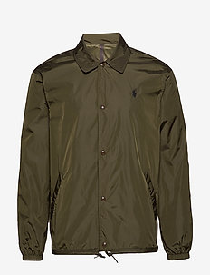 Coach Jacket - light jackets - company olive