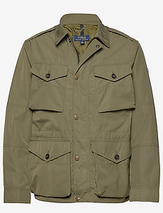 Four-Pocket Oxford Jacket - EXPEDITION OLIVE