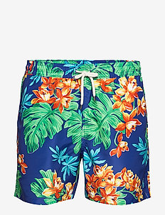 5½-Inch Traveler Swim Trunk - TROPICAL 2020