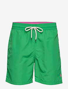 5½-Inch Traveler Swim Trunk - GOLF GREEN