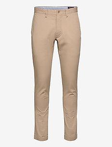 Stretch Slim Fit Chino Pant - chinos - khaki tan