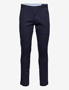 Stretch Slim Fit Chino Pant - pantalons chino - nautical ink