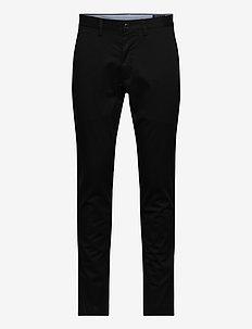 Stretch Slim Fit Chino Pant - chinos - polo black