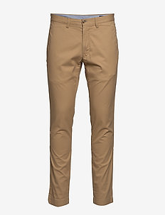 TSLFBEDFORDP-FLAT-PANT - LUXURY TAN