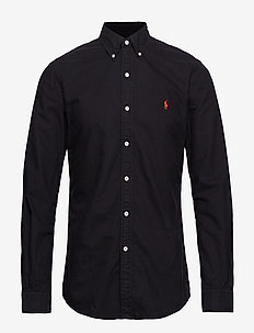 SL BD PPC SP-LONG SLEEVE-SPORT SHIRT - POLO BLACK
