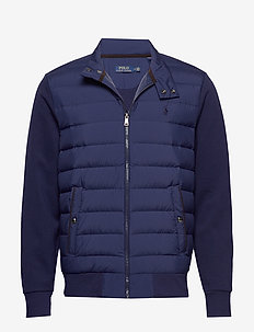 Hybrid Down Jacket - gefütterte jacken - newport navy