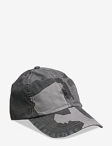 Camo Canvas Baseball Cap - GREY SURPLUS CAMO