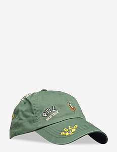 Rugby Player Chino Cap - WASHED FOREST W/