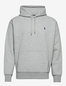 Polo Hoodie - basic sweatshirts - andover heather