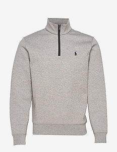 Double-Knit Sweatshirt - BATTALION HEATHER