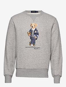 Polo Bear Fleece Sweatshirt - ANDOVER HEATHER
