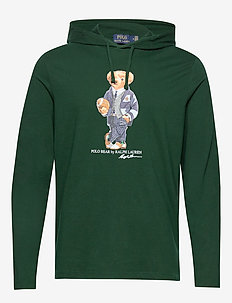 Polo Bear Hooded Tee - hettegensere - college green
