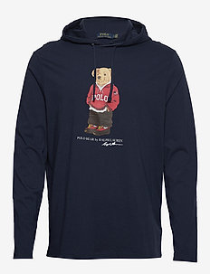 Polo Bear Hooded Tee - CRUISE NAVY