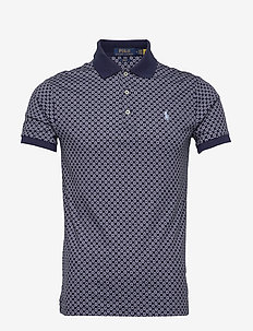 SOFT TOUCH-SSL-KNT - polos à manches courtes - french navy multi