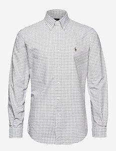 Custom Fit Striped Shirt - oxford-skjorter - 4338e grey heathe